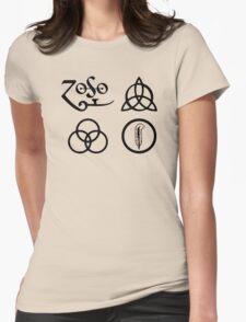 Led Zeppelin-4 ZOSO symbol T-Shirt