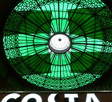 The Old Booking Hall Dome At Edinburgh Waverley Railway Station  by ©The Creative  Minds