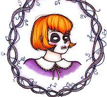 Skeleton Wreath by Lillyanakirk