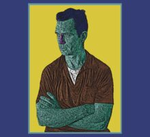 Jack Kerouac Culture Cloth Zinc Collection by CultureCloth
