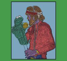 Jim Henson Kermit the Frog Culture Cloth Zinc Collection by CultureCloth