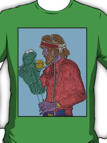 Jim Henson Kermit the Frog Culture Cloth Zinc Collection T-Shirt