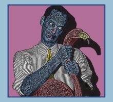 John Waters Pink Flamingo Culture Cloth Zinc Collection by CultureCloth