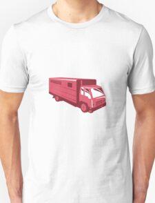 horse truck trailer retro Unisex T-Shirt