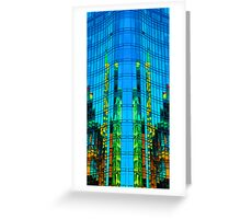 Tower of Glass Greeting Card