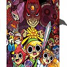 triforce adventure time style iphone case by grafidiU