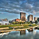 Dayton Skyline - Color by Christopher Herrfurth
