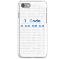 I am coder iPhone Case/Skin