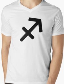 Sagittarius - The Archer - Astrology Sign Mens V-Neck T-Shirt
