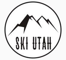 Ski Utah Kids Tee