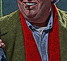 Uncle Buck John Candy Culture Cloth Zinc Collection Sticker
