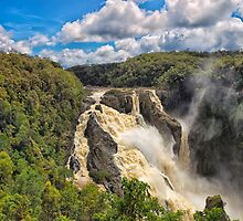 The wild Barron Falls by hereswendy