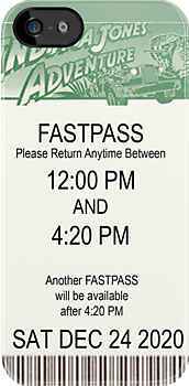 Indiana Jones FASTPASS by HighDesign