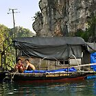 Floating Village #10 - Halong Bay - Vietnam by Malcolm Heberle