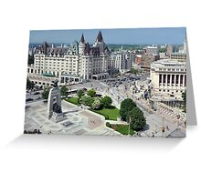 Confederation Square, Ottawa Greeting Card