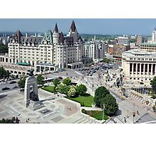 Confederation Square, Ottawa Photographic Print