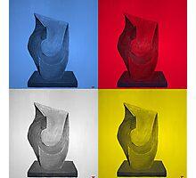 Primary statues Photographic Print