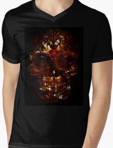 Day of the Dead Death Mask Mens V-Neck T-Shirt