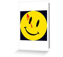 Comedian's badge Greeting Card