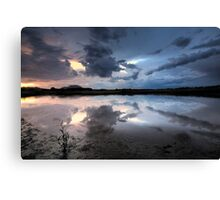 Storm Cloud Blues Canvas Print