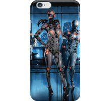 Cyberpunk Nightclub Painting 001 iPhone Case/Skin