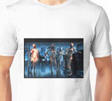 Cyberpunk Nightclub Painting 001 Unisex T-Shirt