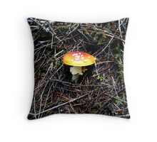 Mushroom (Available in iphone, ipod & ipad cases) Throw Pillow
