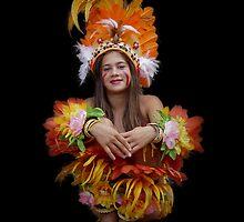 Young Girl of Boca Da Valeria by Lucinda Walter