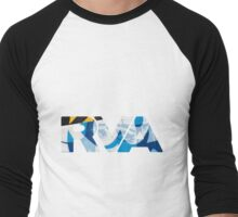 "RVA - flood wall ""PoP Art"" Men's Baseball ¾ T-Shirt"