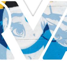 """RVA - flood wall """"PoP Art"""" Sticker"""