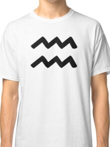 Aquarius - Waterbearer - Astrology Sign Classic T-Shirt