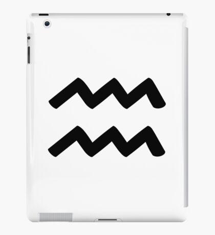 Aquarius - Waterbearer - Astrology Sign iPad Case/Skin