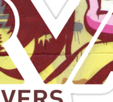 """RVA - Flood Wall """"For Lovers""""  Sticker"""