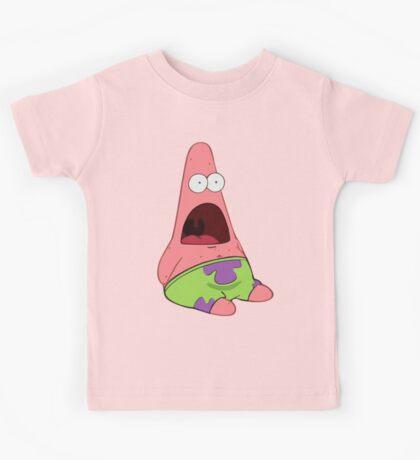 Surprised Patrick Kids Tee