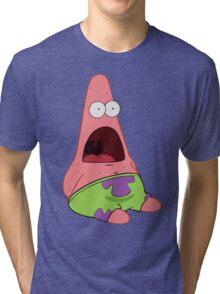 Surprised Patrick Tri-blend T-Shirt
