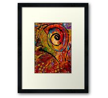 An Artist in Wonderland Framed Print