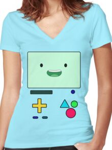 BMO Women's Fitted V-Neck T-Shirt