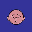 Karl Pilkington - Head - NAVY by aelari1