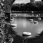 Floats under the Stone Arch by JimGuy