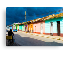 Trinidad street. Canvas Print