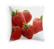 Berries, Floating Throw Pillow