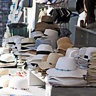 Stacks Of Summer Hats by phil decocco