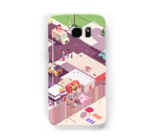 Isometric Beach City Samsung Galaxy Case/Skin