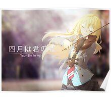 Shigatsu wa Kimi no Uso Poster/Print Poster
