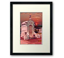 cemetery 11 Framed Print