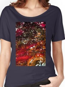 Liquid Stained Glass Women's Relaxed Fit T-Shirt