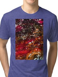 Liquid Stained Glass Tri-blend T-Shirt