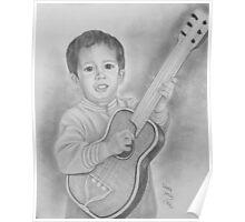 Guitar Marshall Poster