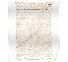 USGS Topo Map Washington State WA Ritzville SW 243468 1967 24000 Poster