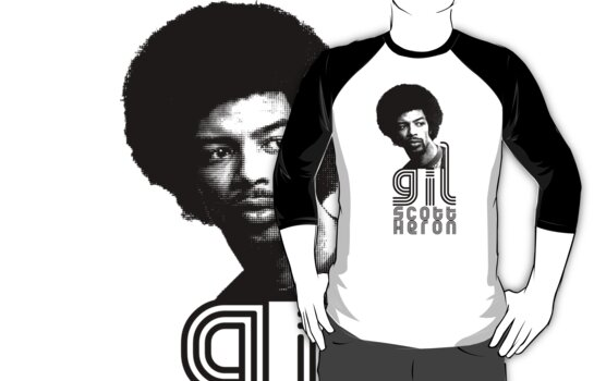 Gil Scott-Heron by chelsgus